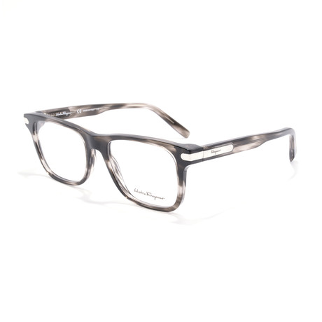 Men's SF2829 Optical Frames // Striped Gray