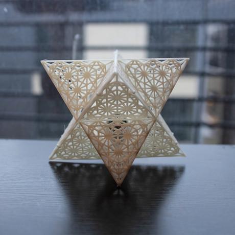 Star 3D Printed Lamp