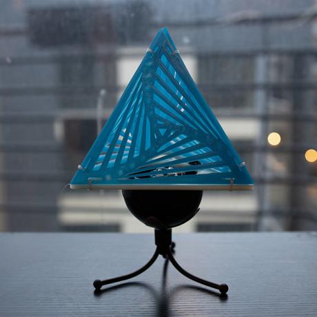 Kinetic Spiral Pyramid