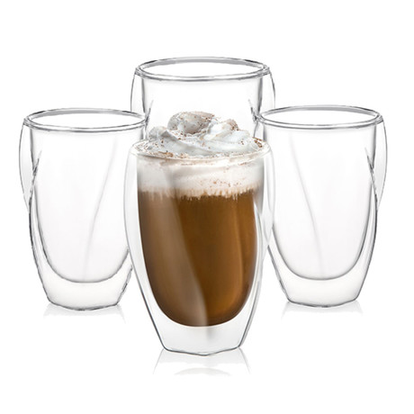 Lacey Double Wall Insulated Tumblers // 10 oz // Set of 4