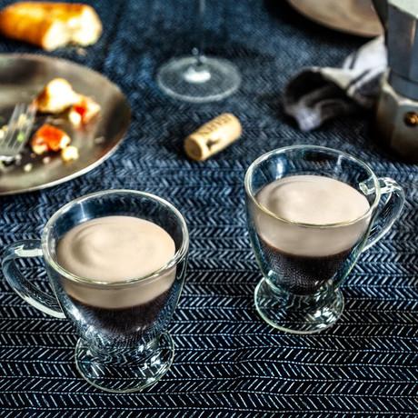 Declan Irish Double Wall Insulated Espresso Glasses // 5 oz // Set of 4