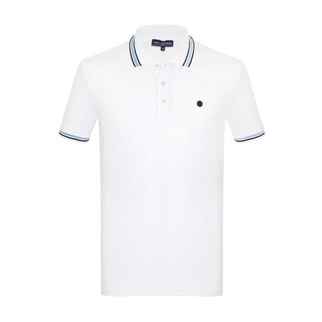 Cory Short Sleeve Polo Shirt // White (S)