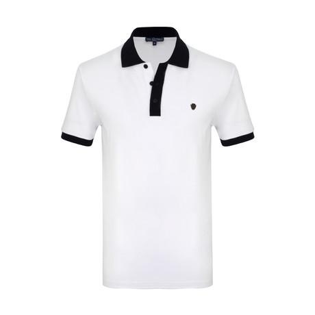 Noah Short Sleeve Polo Shirt // White (S)