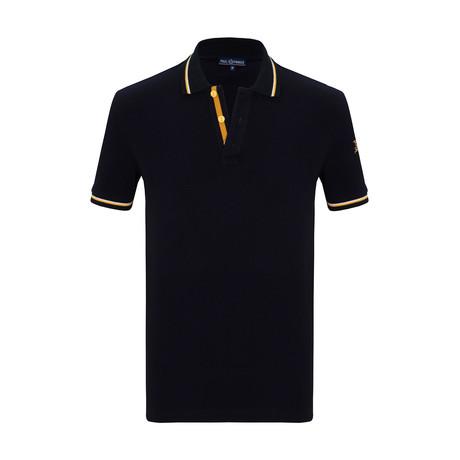 Jason Short Sleeve Polo Shirt // Navy (S)