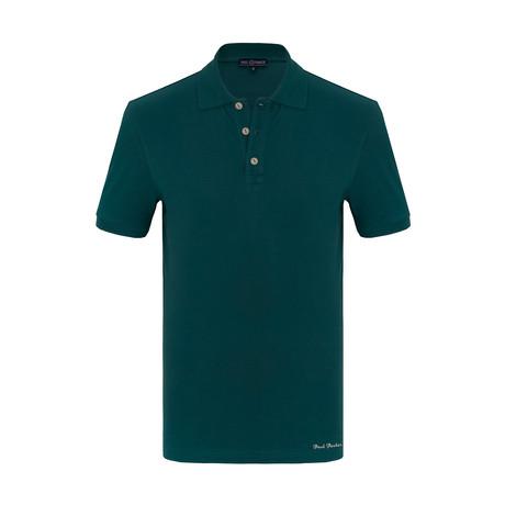 Roberto Short Sleeve Polo Shirt // Green (S)