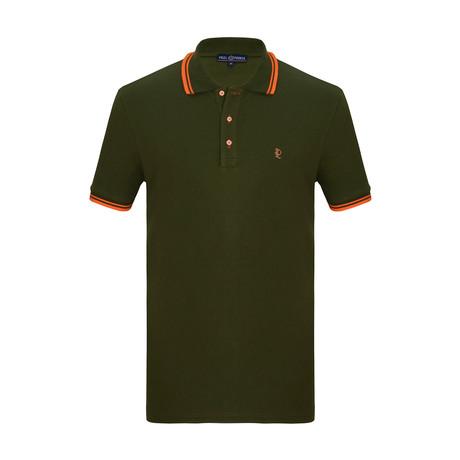 Otto Short Sleeve Polo Shirt // Khaki (S)