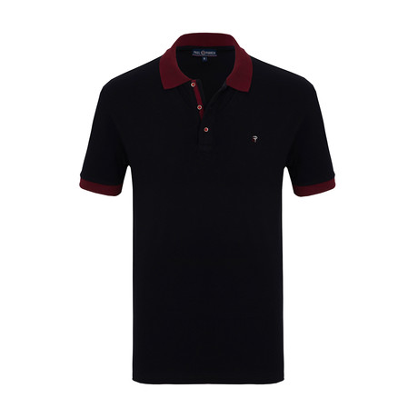 Remi Short Sleeve Polo Shirt // Navy (S)