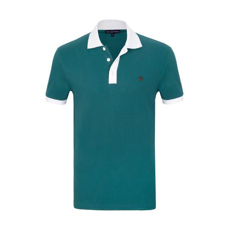 Frederik Short Sleeve Polo Shirt // Green (S)