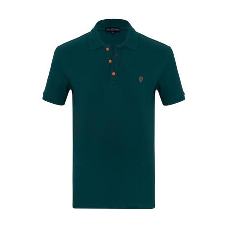 Jakob Short Sleeve Polo Shirt // Green (S)