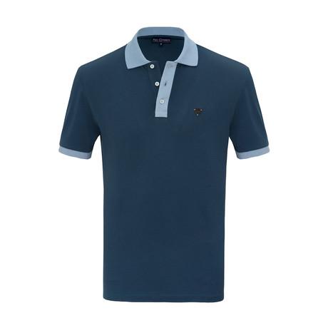 Ruben Short Sleeve Polo Shirt // Marine (S)
