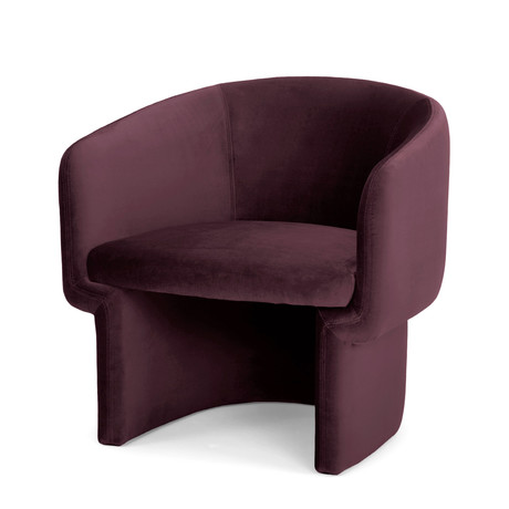 Jessie Accent Chair // Plum Purple