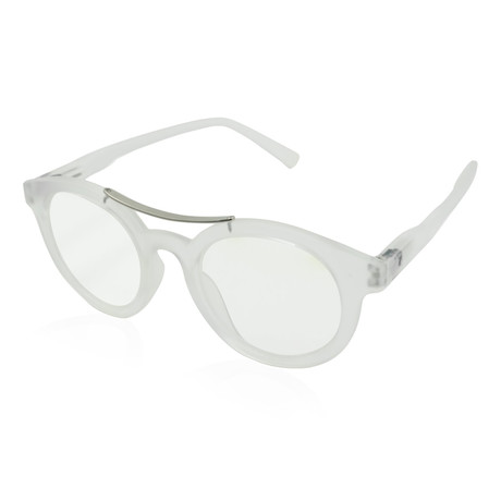 Unisex Meyer Blue-Light Blocking Readers // Clear (0.00x)