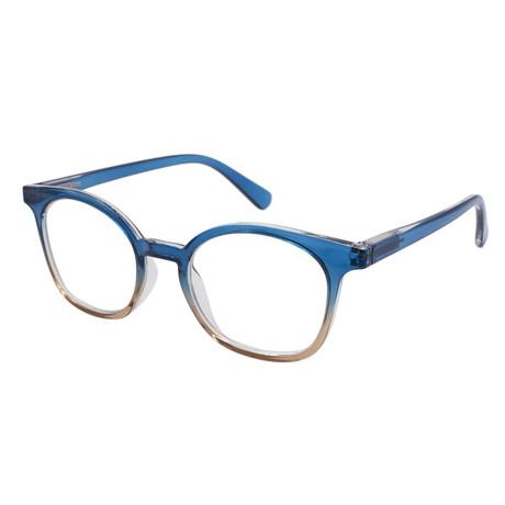 Women's Ellie Blue-Light Blocking Readers // Blue (+0.00)