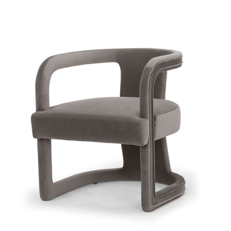Rory Accent Chair // Mouse Gray