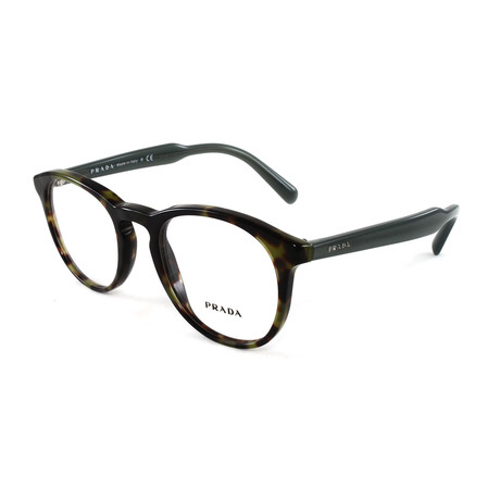 Men's PR19SV Optical Frames // Matte Tortoise + Black