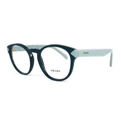 Women's PR16TV Optical Frames // Green (Size: 50-18-140)