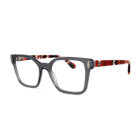 Women's PR05TV Optical Frames // Transparent Gray
