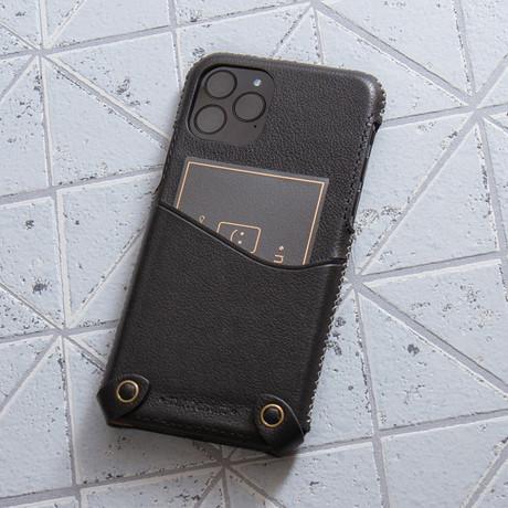 Classic Minimalist Series  //  iPhone 11 Pro (Black)