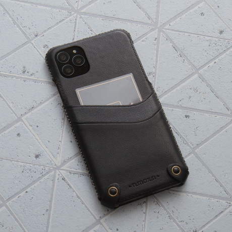 Classic Minimalist Series  //  iPhone 11 Pro Max (Black)