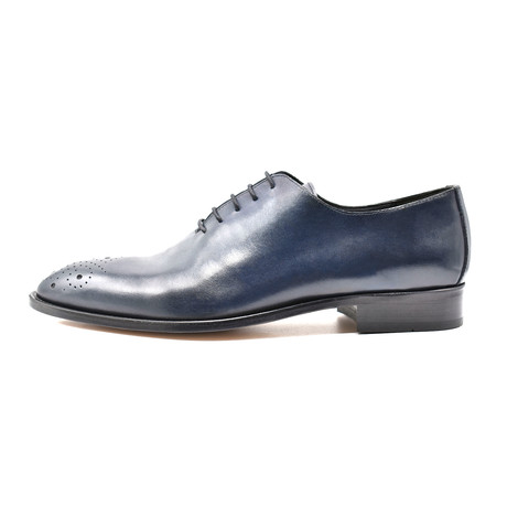 Treyton Dress Shoe // Dark Blue (Euro: 39)
