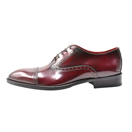 Keanu Dress Shoe // Burgundy (Euro: 39)