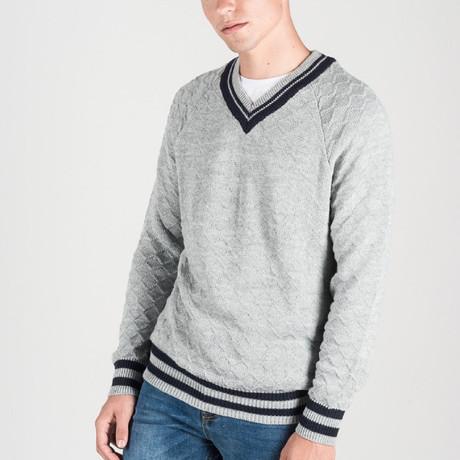 V-Neck Jersey // Gray (S)