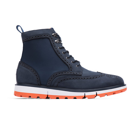 Motion Wing Tip Boot // Navy (US: 7)
