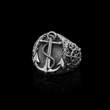 Castaway Ring // Stainless Steel (Size 7)