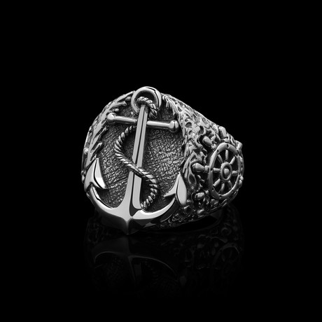 Castaway Ring // Silver (Size 7)