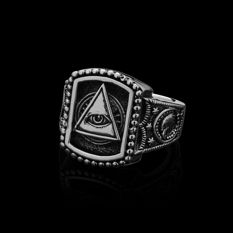 Illuminati Ring // Silver (Size 7)
