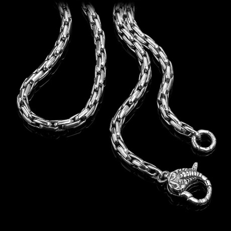 Scorpion x Rounded Box Chain