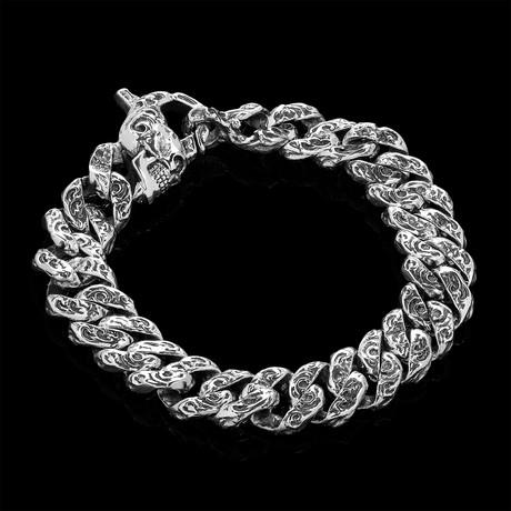 """Open Water Bracelet // Silver (7.5"""" // 72.64g)"""