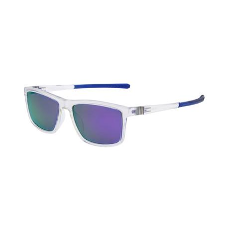Men's SP3012 Sunglasses // Crystal + Navy