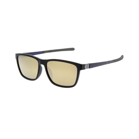 Men's SP3013 Polarized Sunglasses // Black + Gray