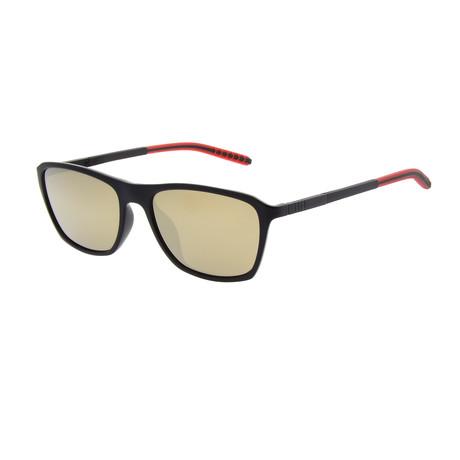 Men's SP3402 Sunglasses // Black + Red