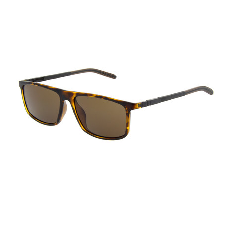 Men's SP3401 Polarized Sunglasses // Tortoise + Brown