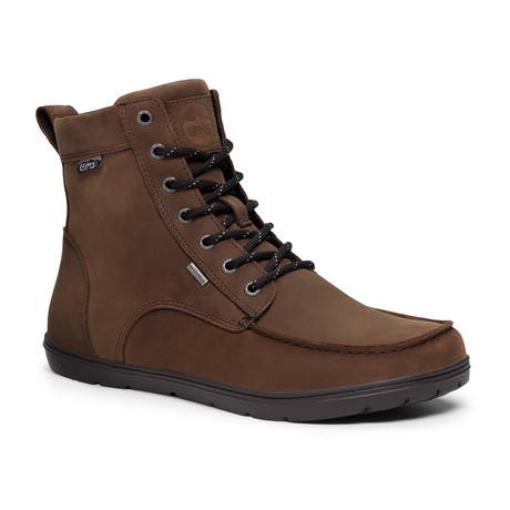 Boulder Waterproof Boots // Weathered Umber (Size 3.5)