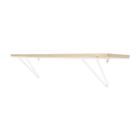 Adams Shelf Supports // White (Small)