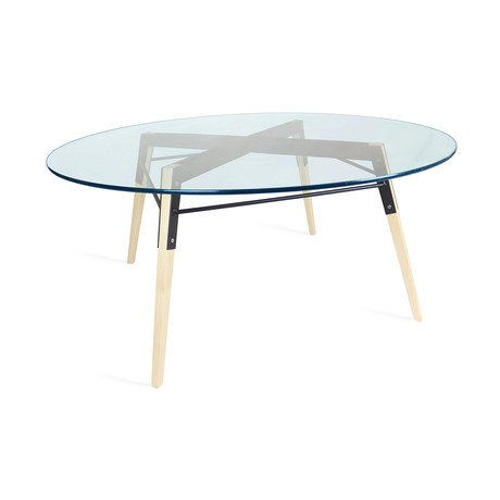 Ross Coffee Table // Maple (Black)