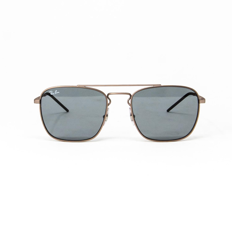 Modified Aviator Sunglasses // Gold + Dark Gray
