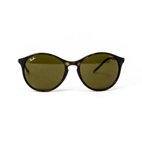 Ray Ban // Men's Round Sunglasses // Dark Brown Tortoise