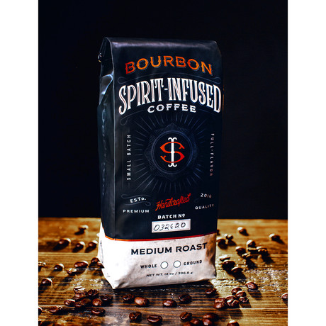 Bourbon Infused Coffee // Bundle of 2 (Ground)