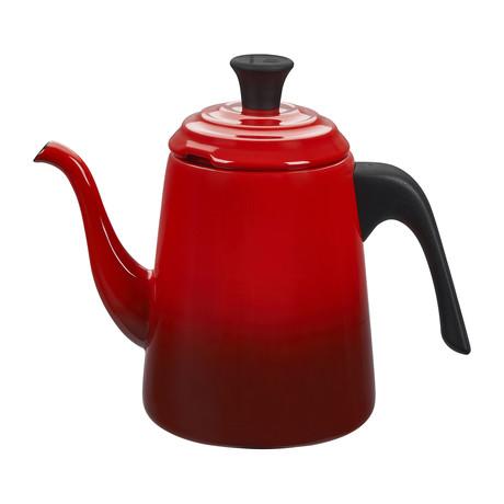Pour Over Kettle // 0.75 qt. (Cerise)