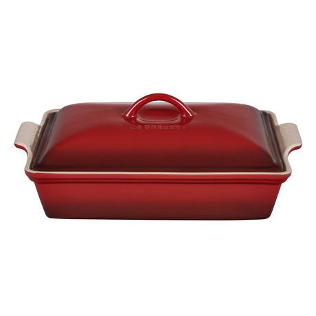 Heritage Covered Rectangular Casserole Dish // 4 qt. (Artichaut)