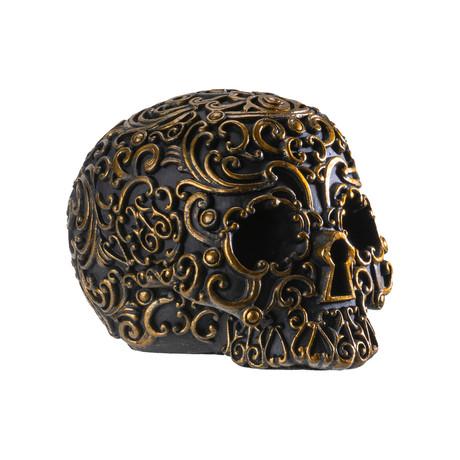 Black + Gold Skull