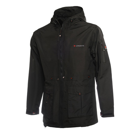 Outdoor Men's Explorer Parka // Black (S)