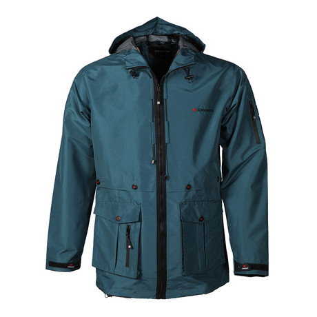 Outdoor Men's Explorer Parka // Teal (S)