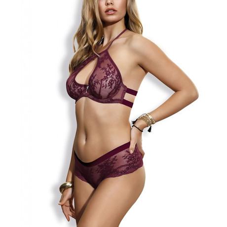 Eden Chic Soft Bra // Purple (32A)