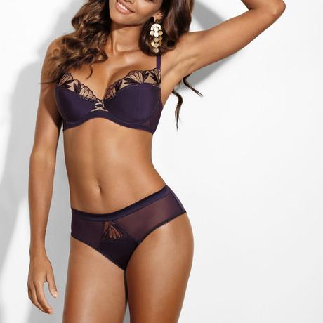 Good Girl Push Up Bra // Purple (32A)