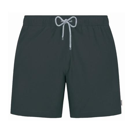 Solid Swim Short // Anthracite (S)